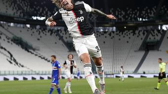 Federico Bernardeschi traf zum 2:0 für Juventus