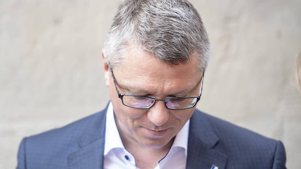 Dem Luzerner SP-Kantonsrat Jörg Meyer war mit seinem Postulat für eine grosszügigere Kurzarbeitsentschädigung kein Erfolg beschieden. (Archivaufnahme)