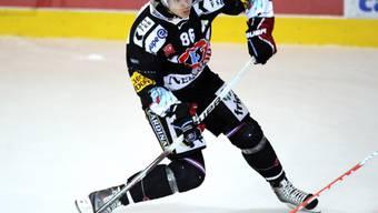 Julien Sprunger traf für die Fribourger zum 2:0