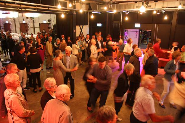Rund 200 Mitglieder nahmen an der 150-Jahr-Jubiläumsfeier des STV Baden teil.