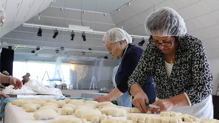 Es wird eifrig Brot produziert. Dennis Kalt