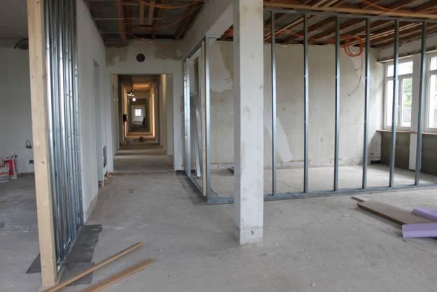 Der östliche Teil wird zu Büros umgebaut