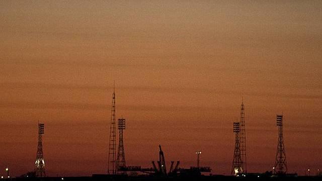 Blick auf den Weltraumbahnhof Baikonur (Archiv)