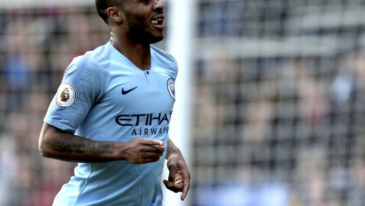 Raheem Sterling brachte Manchester City mit zwei Toren zur 2:0-Führung bei Crystal Palace auf die Siegesstrasse.