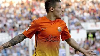 Tello liess sich bei Barcelona als zweifacher Torschütze notieren