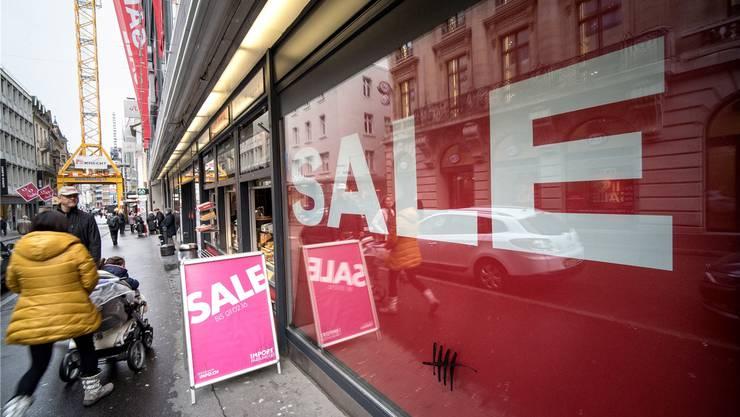 Basler Detailhändler Verkaufen Ihre Ware Bereits 70 Prozent Billiger