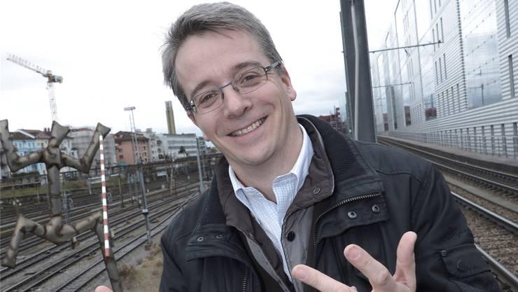 Vom Partyorganisator zum Grossratspräsidenten: Christian Egeler. Nicole Nars-Zimmer