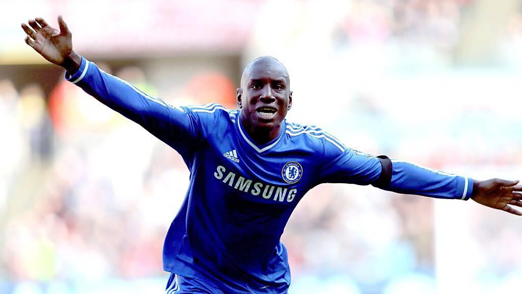 Demba Ba spielte unter anderem beim FC Chelsea.