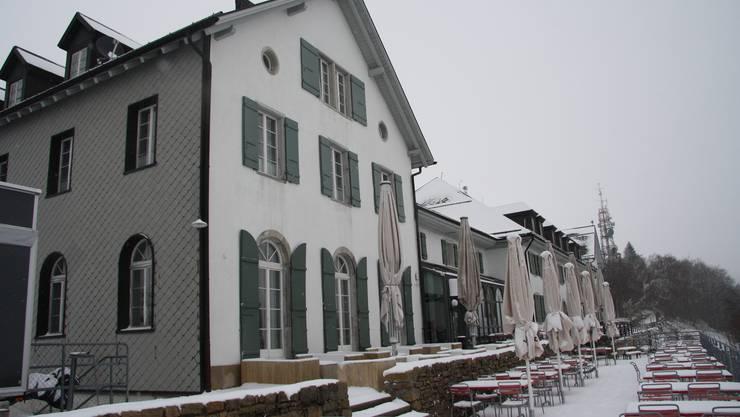 Das Kurhaus Weissenstein am 19. April 2016