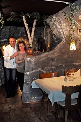 Jörg und Gisela Gschwinds mussten das Restaurant «Kehlengrabenschlucht» trotz grossem Erfolg schliessen. Der Preis für das Restaurant zu kaufen, war zu hoch.