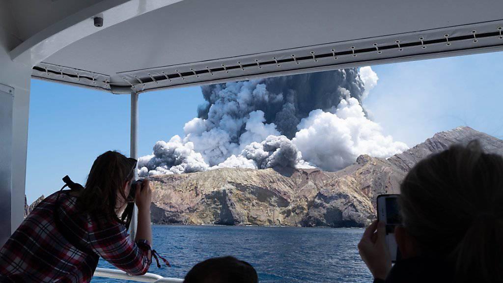 Nach Vulkanausbruch stirbt weiteres Opfer stirbt in Klinik