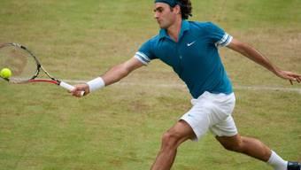 Roger Federer wurde von Philipp Kohlschreiber nur im Startsatz gefordert