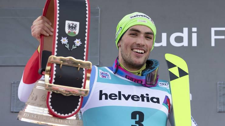 12. Januar 2020: Daniel Yule gewinnt den Slalom in Adelboden. Damit geht eine lange Durststrecke zu Ende: Es ist der erste Schweizer Slalomsieg am Chuenisbärgli seit 2007, als Marc Berthod überraschend triumphierte.