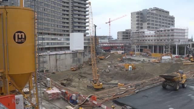 Insel-Areal: Wie gehen die Bauarbeiten voran?