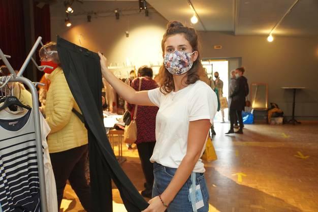 Nora Schwob ist die Organisatorin des Walk-in Closet in Reinach.