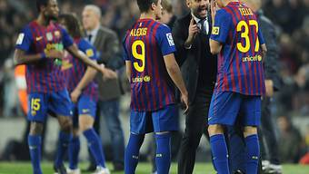 Barça-Coach Pep Guardiola fand offenbar die richtigen Worte