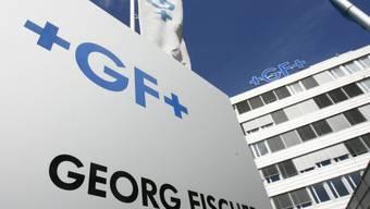 Der Hauptsitz von Georg Fischer in Schaffhausen