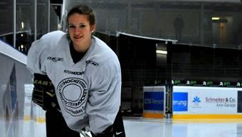 Valeska Poschung zieht Eishockey dem Eiskunstlauf vor.  Wirz