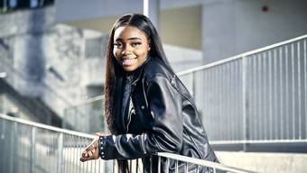 Maria Christelle Ngongo möchte «Switzerland's next Topmodel» werden.