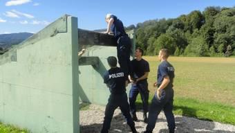 Solothurner Polizeianwärter traten zum Durchhaltetest an