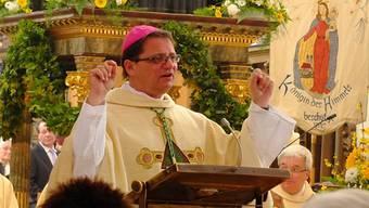 Der Solothurner Bischof Felix Gmür äusserte sich am Fridolinsfest in Bad Säckingen über den neuen Kurs des Papstes.