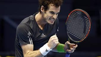 Andy Murray ist der Platz beim Masters kaum noch zu nehmen
