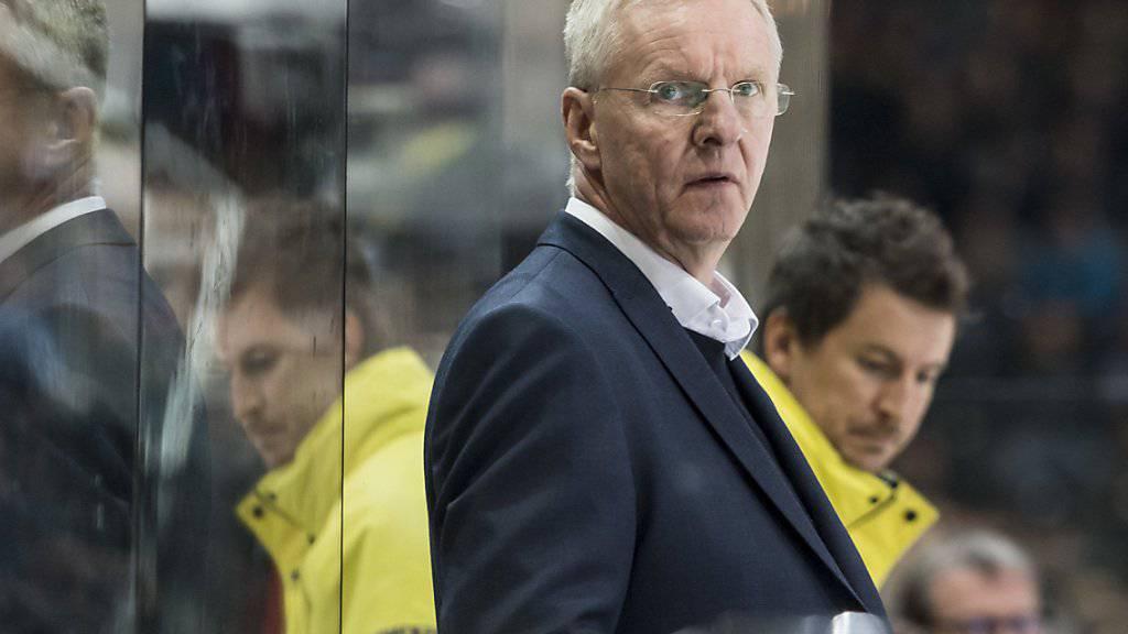 Kari Jalonen bleibt Cheftrainer beim SC Bern.