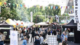 Schlemmerparty auf dem Messe-Areal: Beim Streetfood-Festival auf dem Messe-Areal hat es für jeden was.