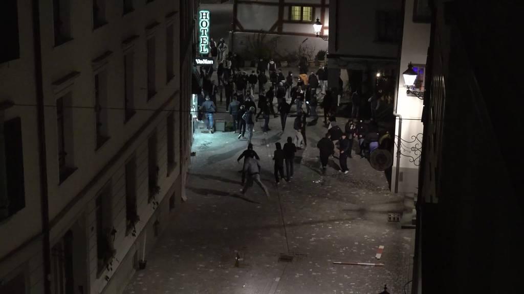 «Schon vorher zu Gewalt aufgerufen» – Ausschreitungen in Innenstadt