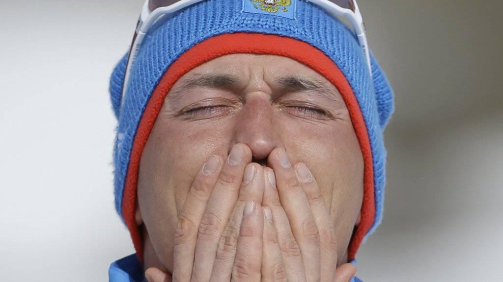 Wegen Dopings: Dem russischen Langläufer Alexander Legkow wurde nachträglich die Goldmedaille von Sotschi 2014 aberkannt.
