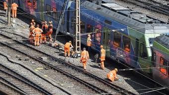 Der Grund für die Entgleisung eines BLS-Regionalzugs in Bern von Ende März ist aller Voraussicht nach ein Ermüdungsbruch der Weichenzungenschiene. Die SBB prüft nun schärfere Kontrollen. (Archivbild)