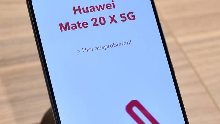 Smartphone-Verkäufe von Huawei stagnieren in Europa. (Archivbild)
