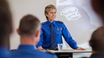 Irene Schönbächler, Abteilungschefin Kapo Nord, beurteilt das Projekt Horizont positiv. Mathias Marx