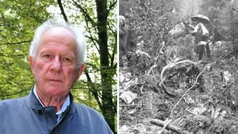 Arthur Schneider, alt Ammann von Würenlingen und Autor der Chronik «Goodbye everybody».