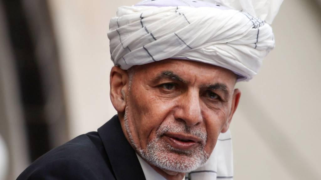 Aschraf Ghani, Präsident von Afghanistan, spricht während seiner Amtseinführungszeremonie im Präsidentenpalast.