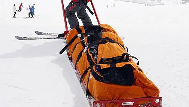 Unfall beim Wintersport (Archiv)