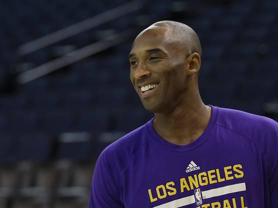 Kobe Bryant ist nicht mehr lange zu bewundern.