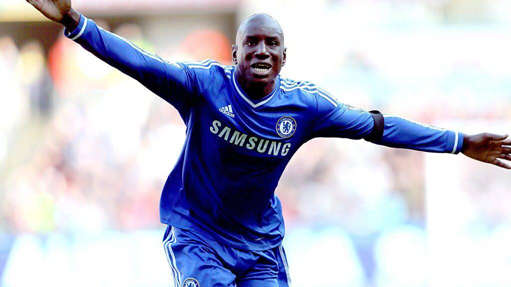 Demba Ba spielte unter anderem beim FC Chelsea