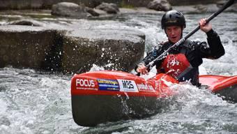 Melanie Mathys an den Kanu Sprint-Weltmeisterschaften Pau (F) vom 26. Sept. - 1. Okt.