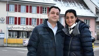 Daniele und Agatina Ieraci eröffnen in der «Sonne» ein italienisches Restaurant.