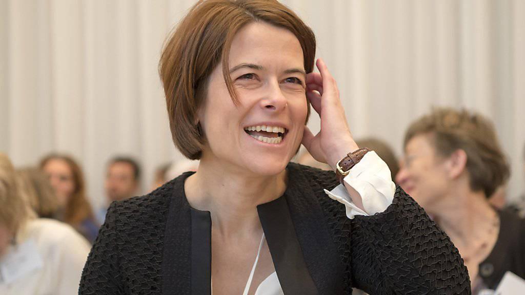 Soll am 16. April zur FDP-Präsidentin gewählt werden und eine männliche Entourage bekommen: Petra Gössi. (Archivbild)