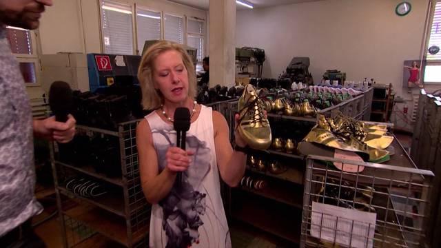 Wenn der Schuh noch in der Schweiz produziert wird...