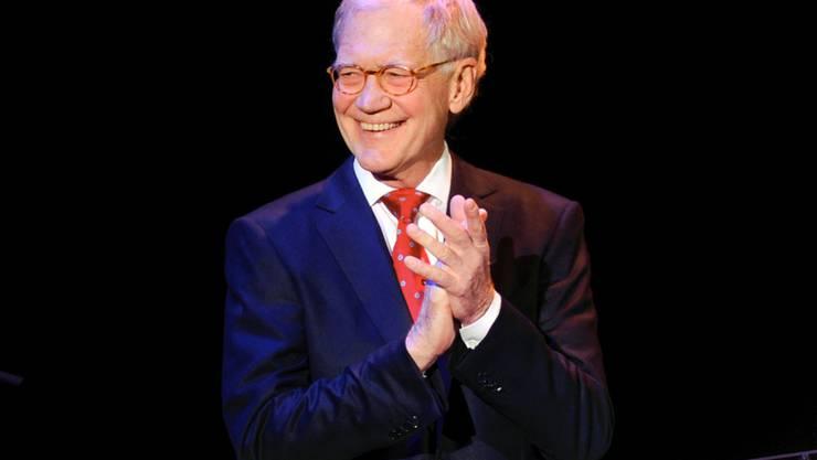 Tritt mit 68 in den Ruhestand: David Letterman (Archiv)