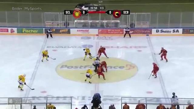 Eishockey auf dem Fussballfeld: Tatzenderby im Stade de Suisse