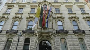 Ein stattliches Haus: Das König-Abdullah-Zentrum in Wien.
