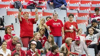 Die Schweizer Davis-Cup-Fans dürfen auf ein Heimspiel im September hoffen