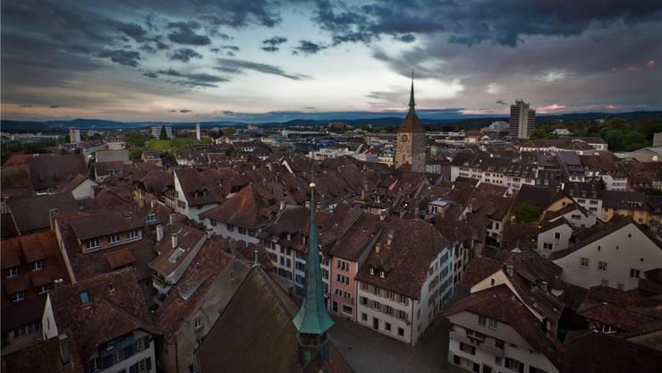 Die Nachfrage nach Wohnraum in Aarau steigt.
