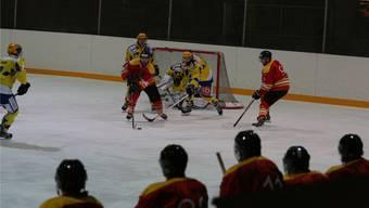 Die Rheinfelder Eishockeyaner stehen vor der entscheidenden Phase der Saison. Heute empfangen sie den EHC Bucheggberg. zvg