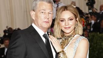 Feierten ihre Verlobung in Italien: US-Schauspielerin und -Sängerin Katharine McPhee und der kanadische Musikproduzent David Foster. (Archivbild)