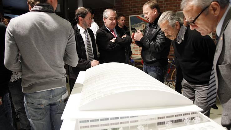 Im April fällt der Startschuss zum Bau des Velodrome. Archiv